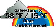 Click for Galveston, Texas Forecast