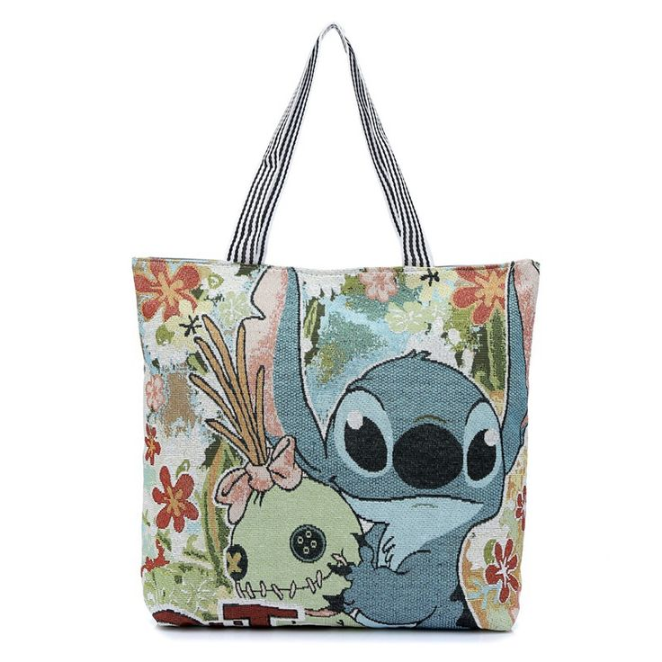 Fashion 3D Printing Cartoon Stitch Canvas Tote Bag Flowers Women Handbag Shoulder Bags Women Shopping Bags Beach Bag //Price: $13.99 //       #7DollarWearables    #cute #instagood #beautiful #dandg #picoftheday #cocochanel #girl #brandonflowers #love #tagblender #dolceandgabbana #lovely #branded #instabrands #good #photooftheday #brands #me #brandy #iphonesia #chanel #awesome #tweegram #tbt #brandname #instamood #brandon #brandymelville #louisvuitton #brand