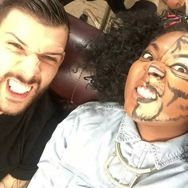 #tattoofixers with my little tiger @misspaisleyxo