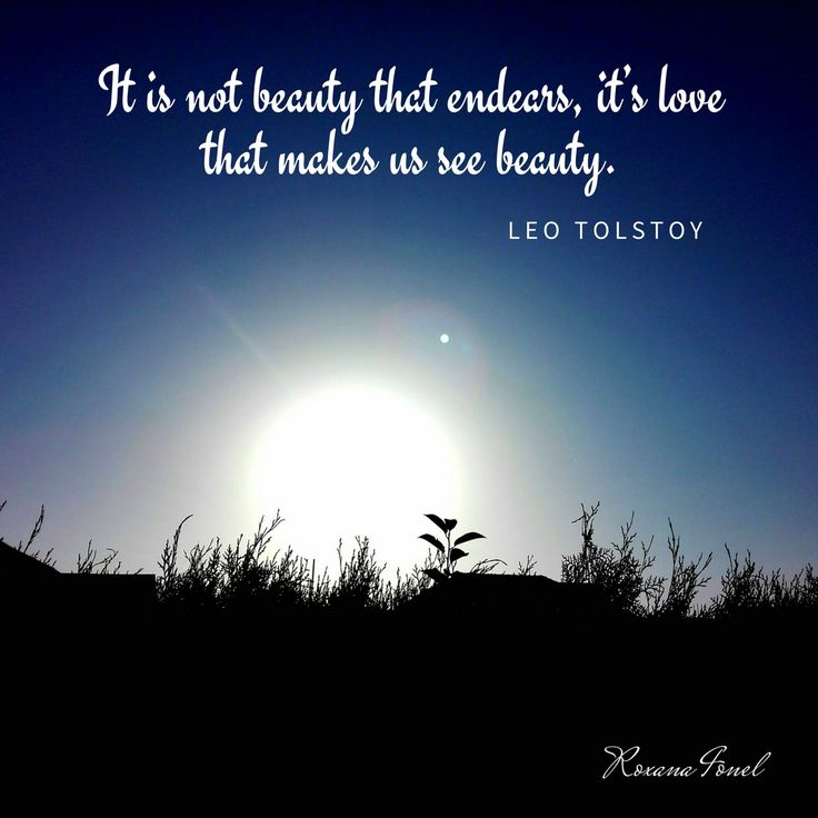 It is not beauty that endears, it's love that makes us see beauty. #love #beauty #creative www.exporeduceri.ro
