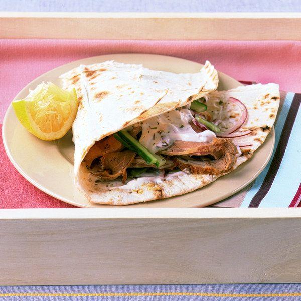 Lamb and Cucumber Wraps Recipe | Food Recipes - Yahoo! Shine