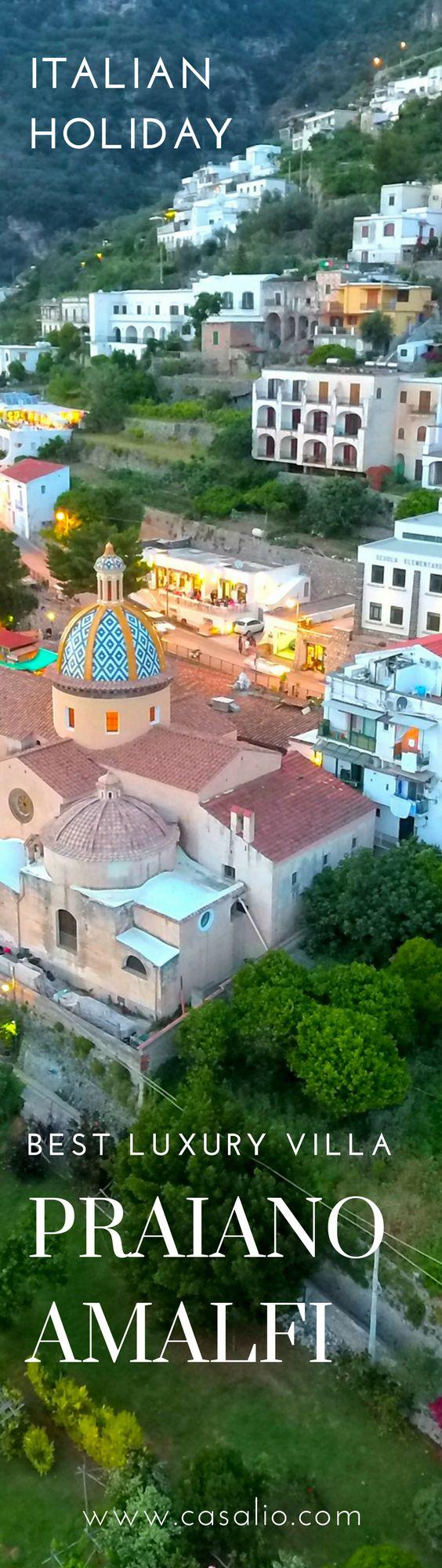 The best luxury holiday villa in Praiano, Amalfi. Masassette Luxury Villa in Casalio Travel. #amalfivillas #amalficoast #amalfiurlaub #italienurlaub #ferienwohnung #ferienhaus #ferienvilla