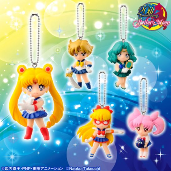 @Sailor Moon Sailor Moon, Sailor V, Uranus, Neptune and Rini cellphone charm set! http://www.moonkitty.net/reviews-buy-sailor-moon-phone-cases-straps-charms.php #SailorMoon