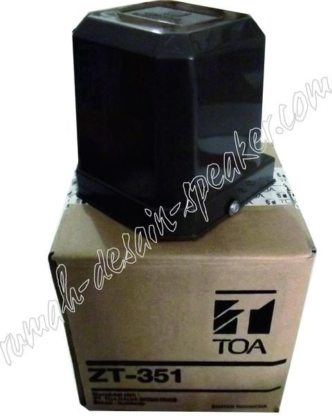 Matching trafo TOA ZT-351 untuk dipasangkan di horn speaker TOA yang belum ada…