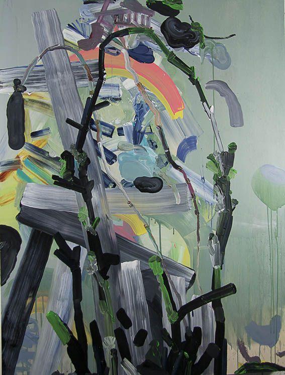 """Samurai, verde"", 2013 Pepa Prieto"