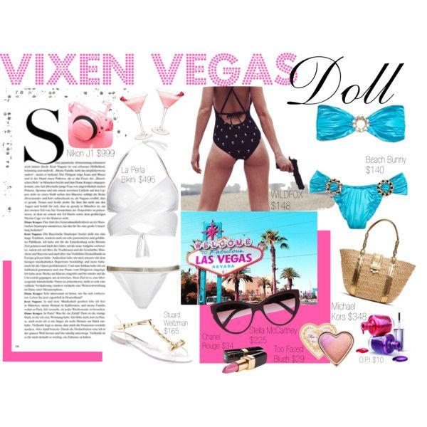 """""""Vixen Vegas Doll"""" by vickysoul on Polyvore"""
