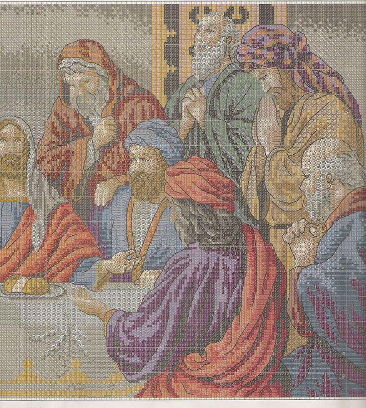 GRAFICOS PUNTO DE CRUZ GRATIS : MAS RELIGIOSOS