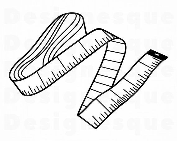 34++ Tape measure clipart black and white information