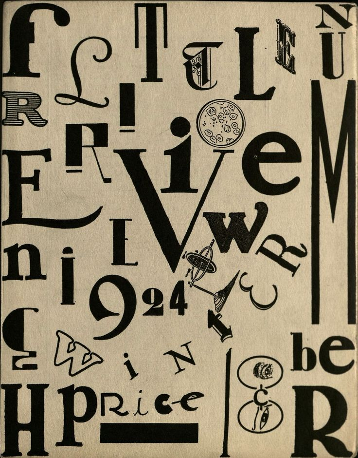 Max Ernst, Little Review, Winter 1924