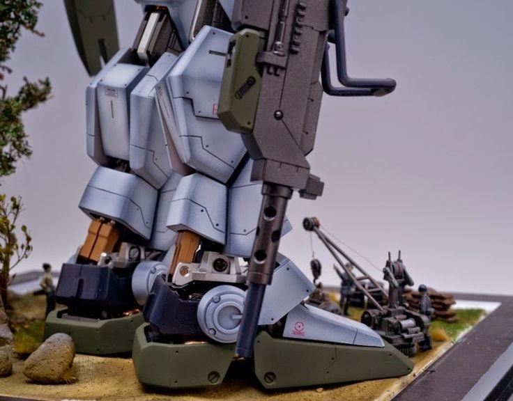 Custom Build: Neo Grade 1/60 RX-79[G] Gundam Ground Type with Diorama - Gundam Kits Collection News and Reviews