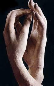 Mani che modellano i pensieri e le passioni -  La cattedrale di Rodin
