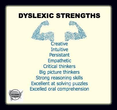 Dyslexic strengths