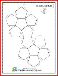37 best images about nets on pinterest 3d geometric shapes