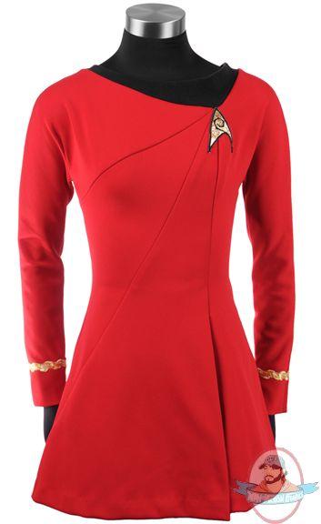 Star Trek The Original Series Uhura Red Dress Large Anovos | Man of Action Figures