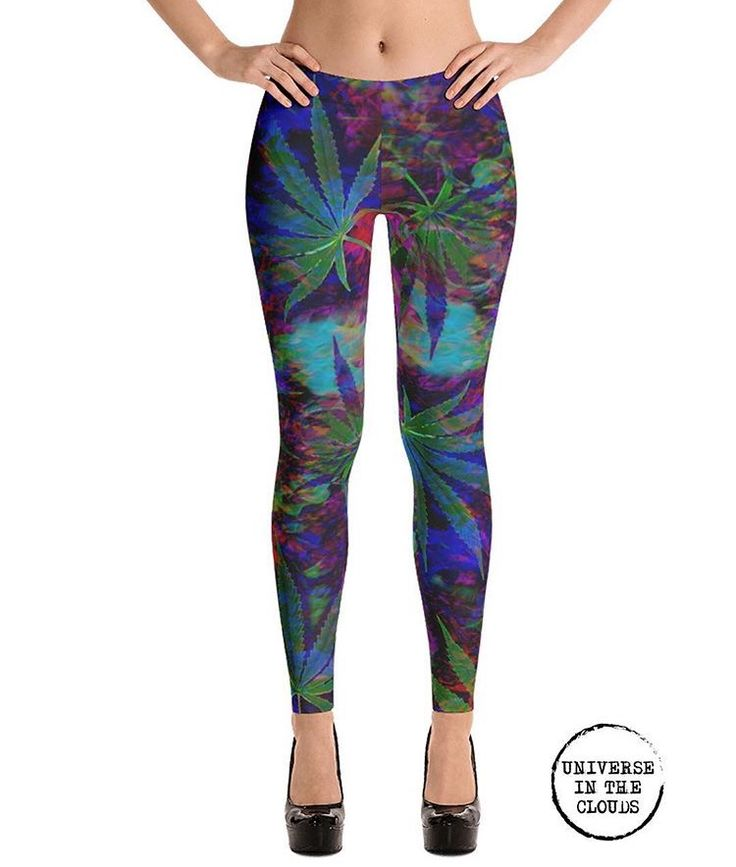 Sour diesel leggings! So cute!!!!  ❤️❤️❤️❤️❤️💚💚💚💚💚 Check them out at  www.universeintheclouds.com