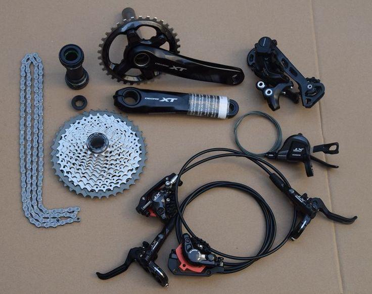 332.50$  Watch now - http://alipew.worldwells.pw/go.php?t=32789643293 - shimano Deore XT M8000 Drivetrain bike bicycle mtb Group set Groupset 1x11s 11speed vs sram x0 x1 xx1 332.50$