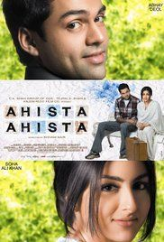 Ahista Ahista 2006 Full Movie. For a fee of Rs.200/- Ankush Ramdev acted as one among four witnesses to couples who come to register their marriages at the Registrar of Marriages in Dariyaganj, Delhi. One day he comes ...