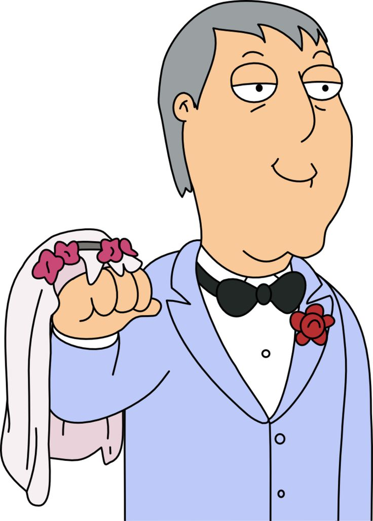 (Family Guy) Adam West with a Wedding Hand by Mighty355