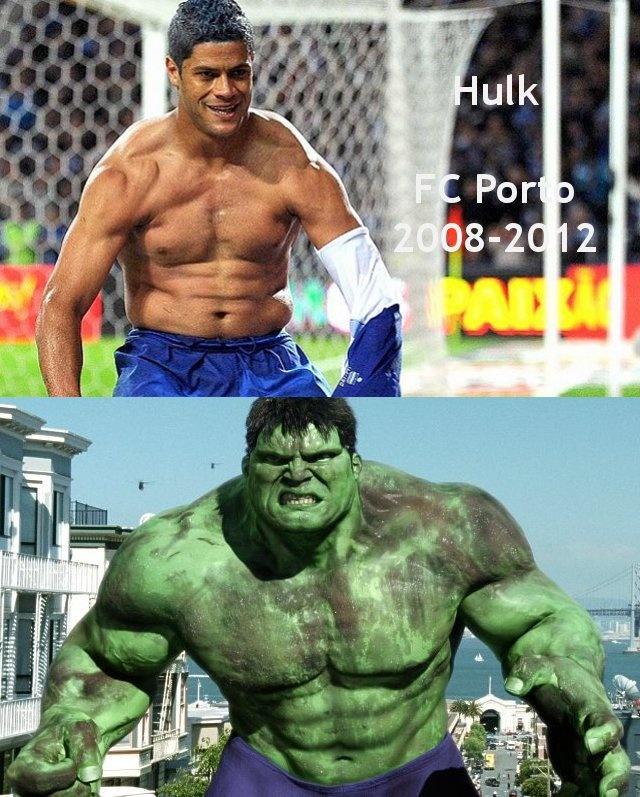 Melhores momentos d'O Incrível Hulk no FC Porto