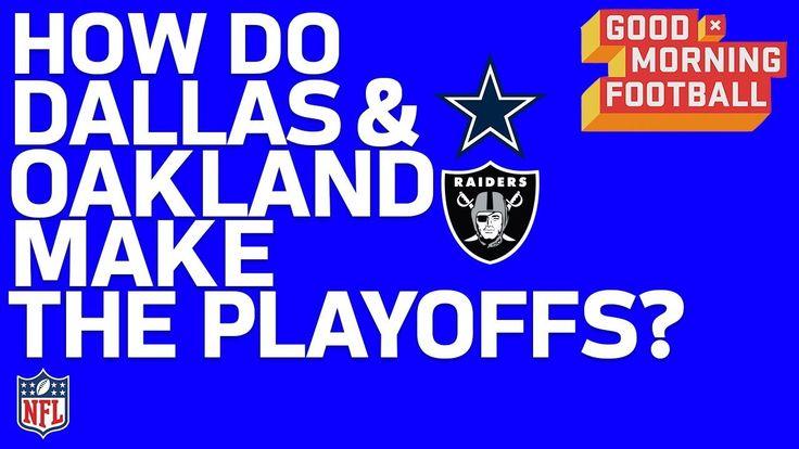 NFL Playoffs: How the Cowboys & Raiders can Make the Postseason | GMFB |...