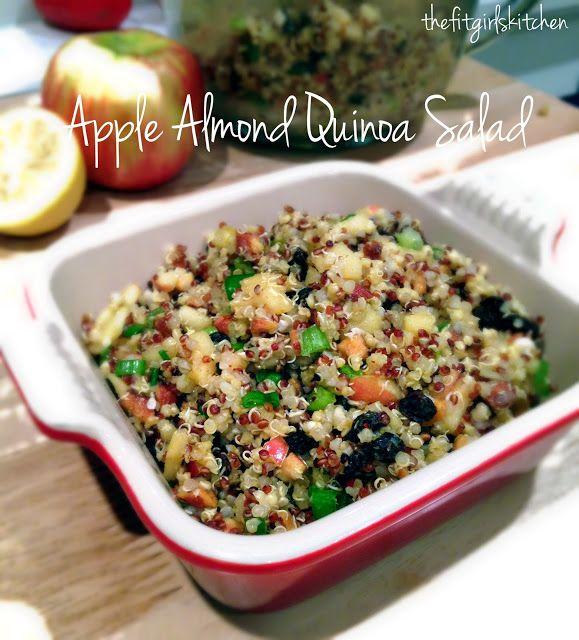 Apple Almond Quinoa Salad (The Fit Girl's Kitchen)
