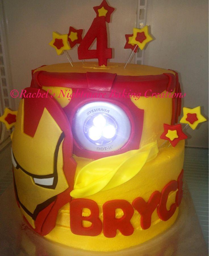 10 best Iron man Cake images on Pinterest Iron man cakes