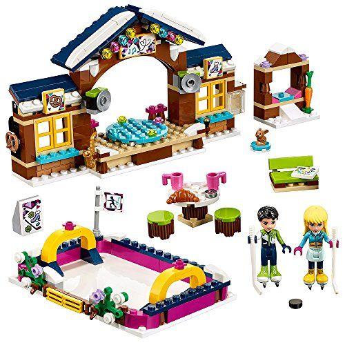 Lego Friends Snow Resort Ice Rink 41322 Building Kit 307 Piece