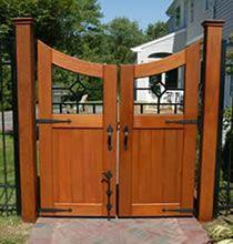 Simple Fence Gate Design 37 best exterior custom gates images on pinterest | custom gates