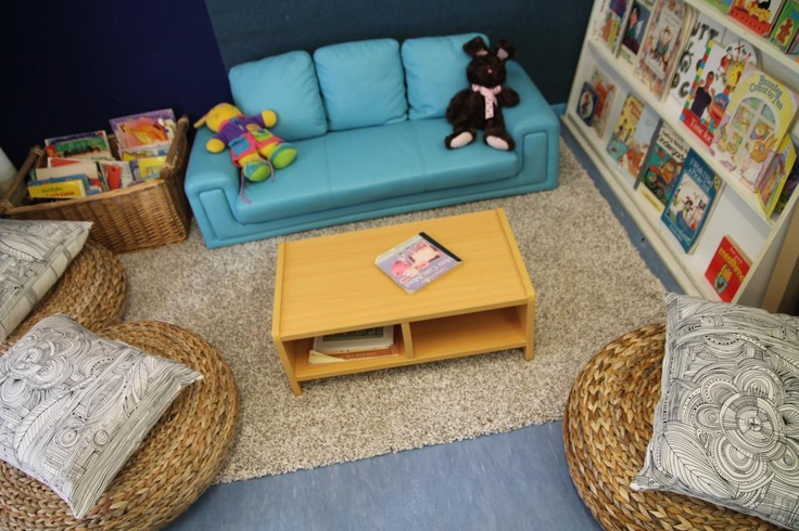Our reading areas are homelike, relaxing and beautiful places to be.