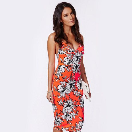 women dress in chiffon with colorful summer floral pastel print for wholesale and free shipping haoduoyi