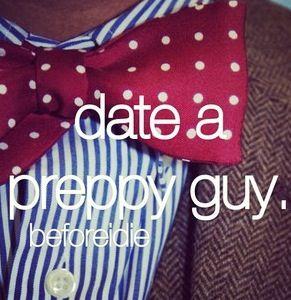 date a preppy guy