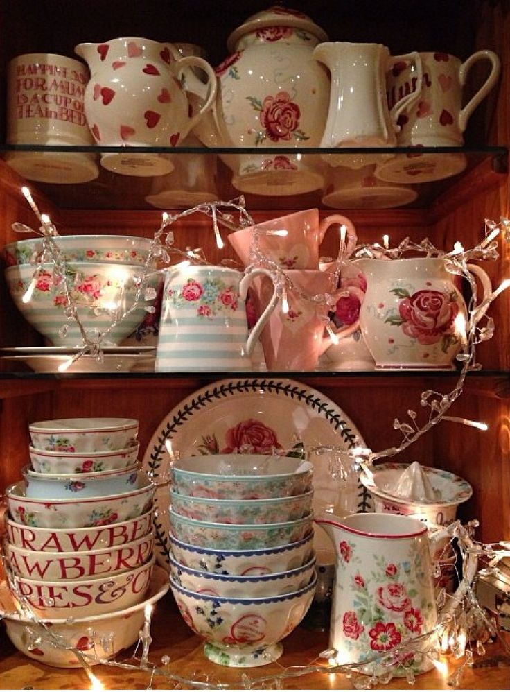 Emma Bridgewater Love & Kisses French Bowls
