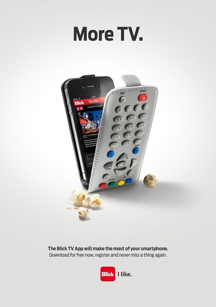 More TV. The Blick TV App will make the most of your smartphone.