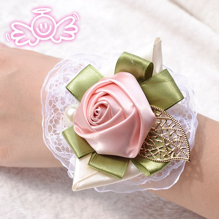 wedding decoration bride wrist flowers,