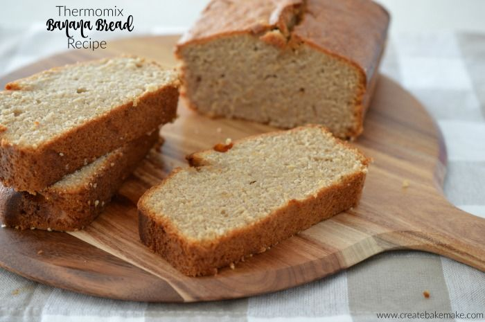 Thermomix Best Ever Banana Cake