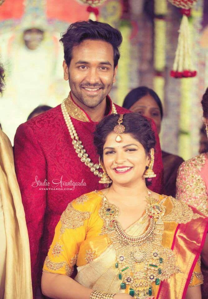 Telugu Weddings Manchu Vishnu And Viranika At Manojs Wedding