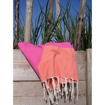 TOP ręcznik Fouta! Śliczny, kolorowy, dużyręcznik Fouta Nice! 100x190 cm