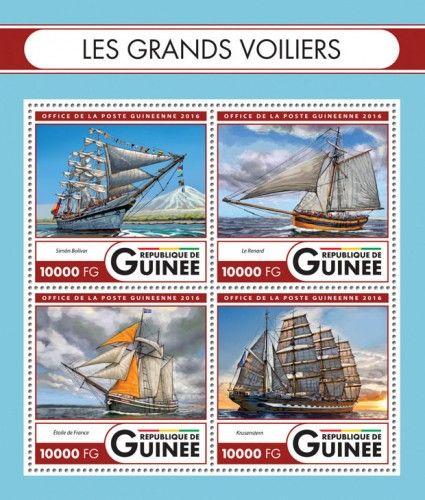 GU16421a Tall ships (Simón Bolívar; Le Renard; Star of France; Kruzenshtern)