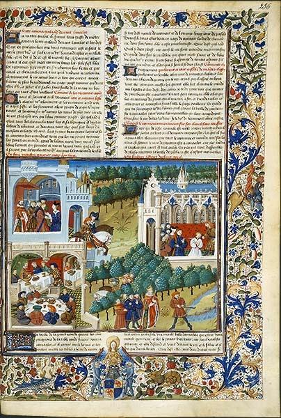 BnF - La légende du roi Arthur.  Aventure intérieure autant que spirituelle, la quête du Graal devient, après Chrétien de Troyes, l'un des thèmes majeurs des romans arthuriens. De nombreux textes en vers reprennent ce motif.