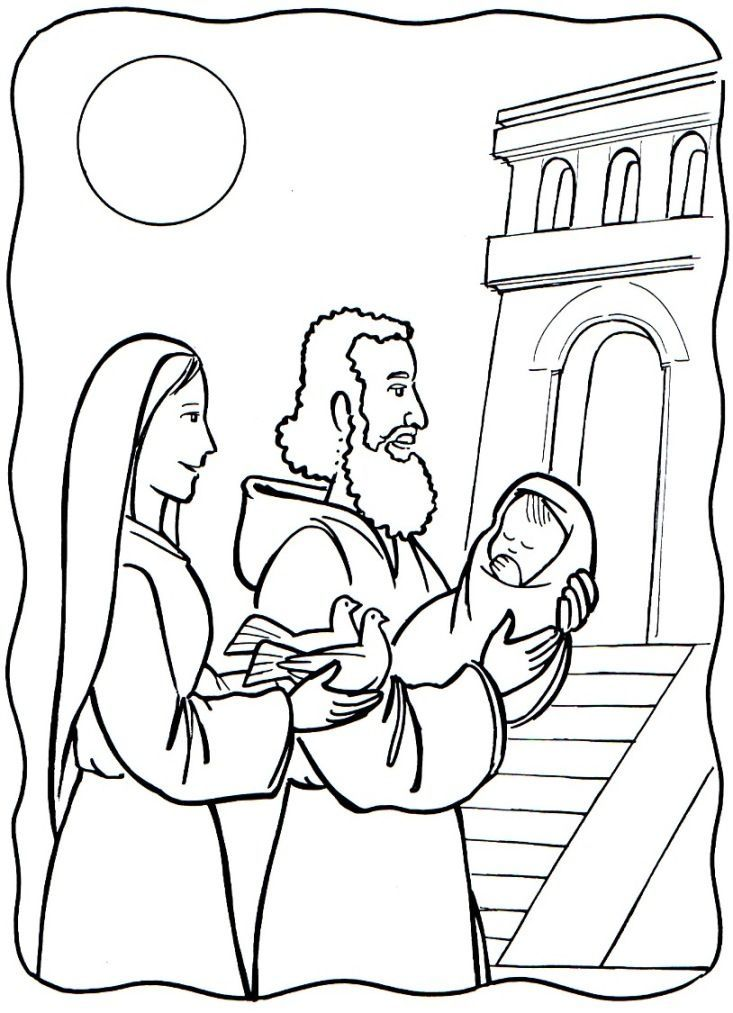coloring pages for catholic preschoolers - photo#2