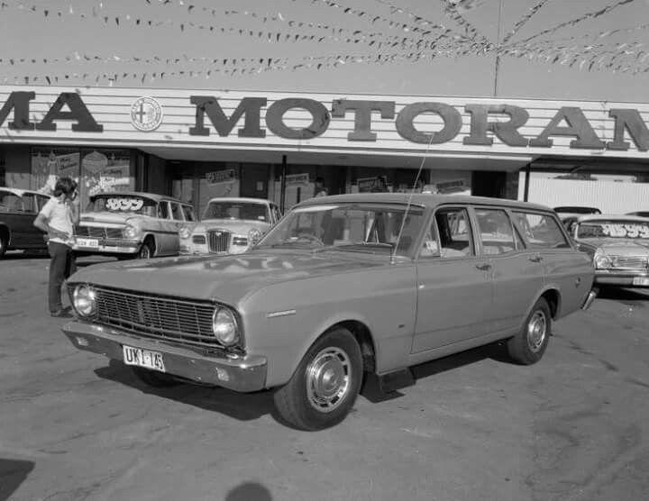 1968 XT FALCON STATION WAGON
