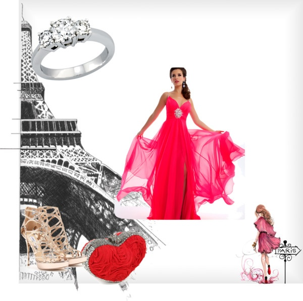"""""""Being in Love in Paris is so beautiful !"""" by athensfashionclub on Polyvore"""