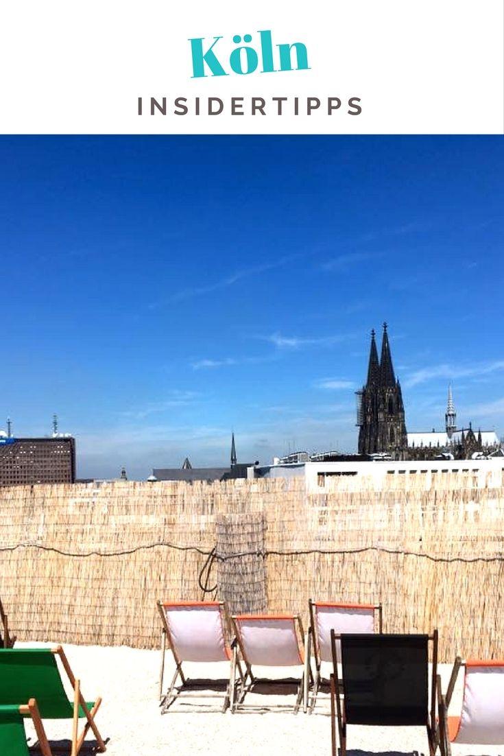 Zwölf Jahre habe ich in Köln gewohnt. Als Einheimische verrate ich euch über 20 Insidertipps Köln zu Cafés und Restaurants (auch für Vegetarier und Veganer), Shopping, Aussichtspunkten und Wellness - sortiert nach den Stadtteilen wie Belgisches Viertel und Ehrenfeld. #Köln #Cologne #Deutschland #Städtereise #Citytrip #Reiseblog #Reiseblogger