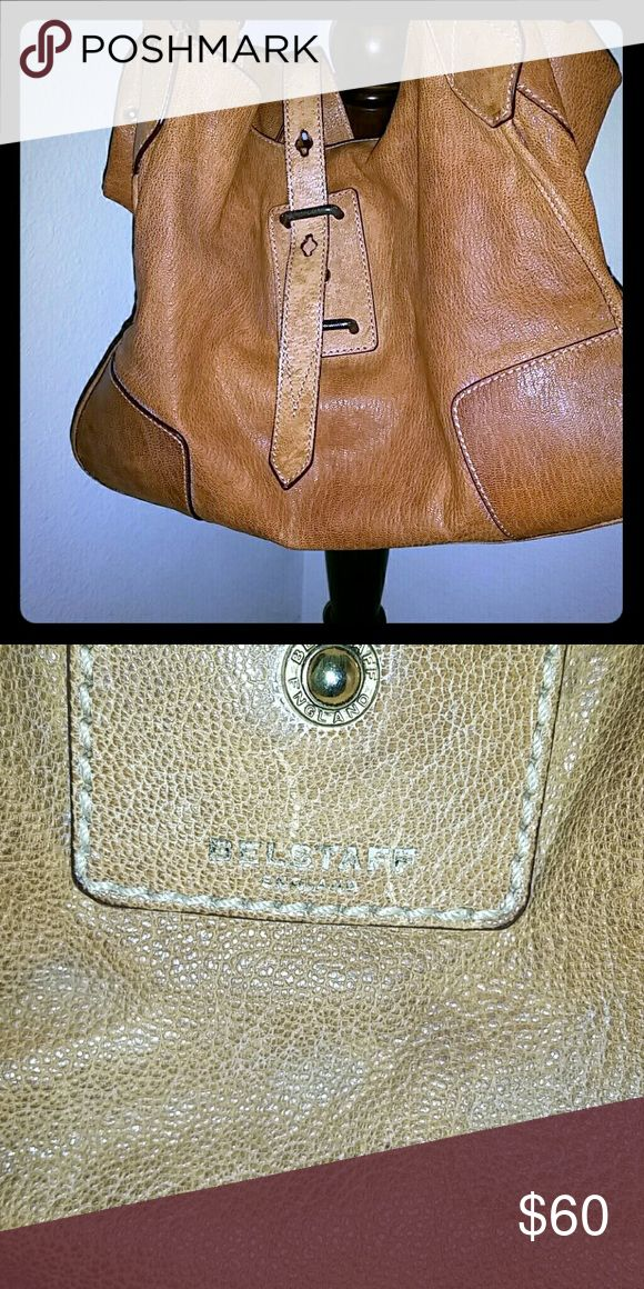 Belstaff Handbag Authentic Belstaff handbag. 100% Leather. The leather has some stains on it but it's a very durable bag. A great price for this bag. belstaff  Bags Shoulder Bags