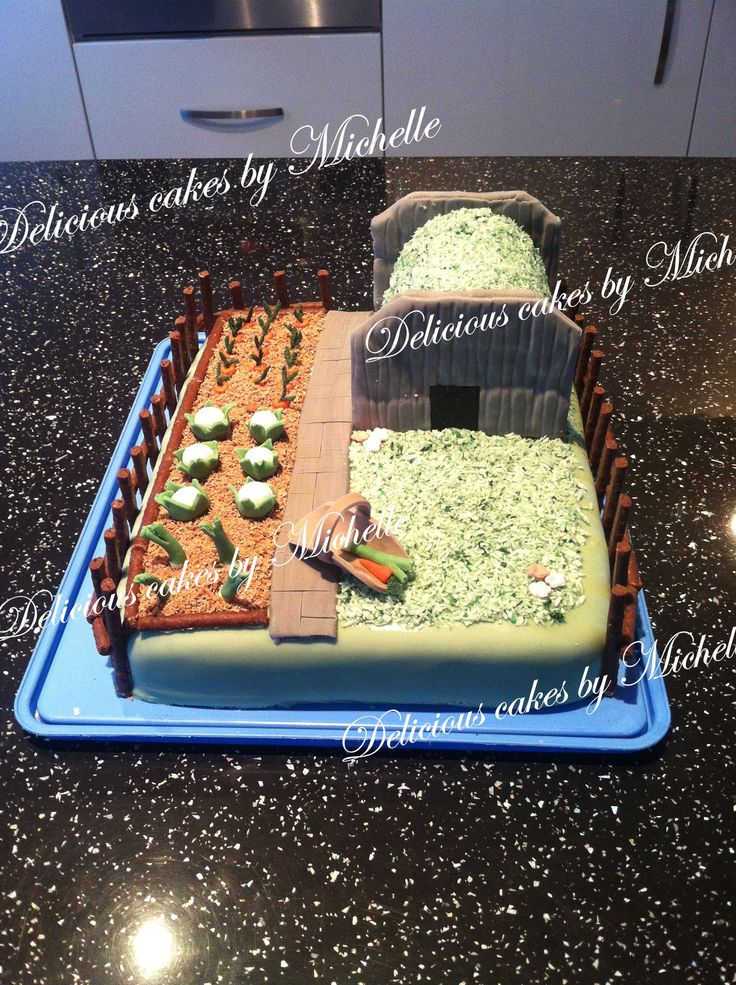 Anderson shelter cake