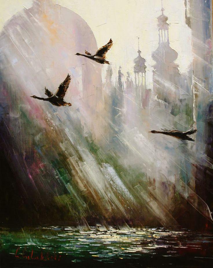 Russian artist Gleb Goloubetski #painting #Art pls visit us > www.facebook.com/skalapeter7 ♡