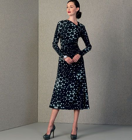 Rachel Comey, Misses' Dress with Gathered Sides, V1406 http://voguepatterns.mccall.com/v1406-products-48727.php?page_id=174