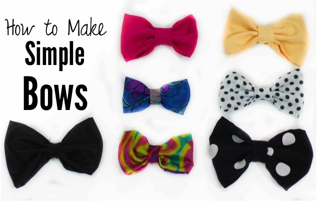how to make bows...big...small...hair...projects, lots of possibilities!