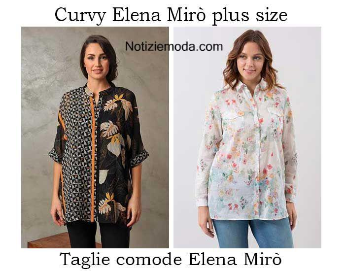 Curvy Elena Mirò primavera estate 2016 moda donna
