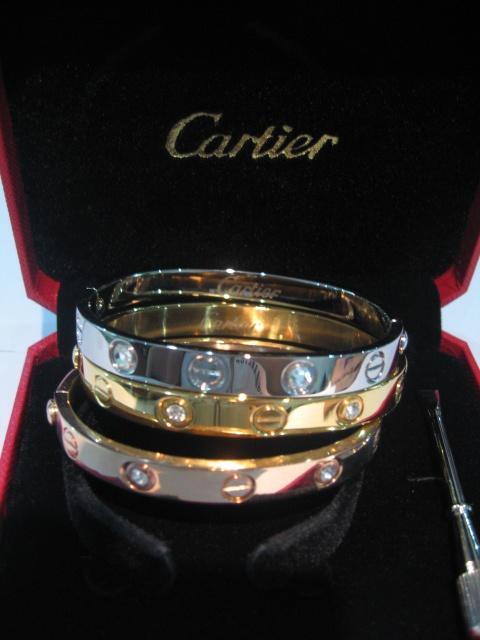 Cartier. Love.